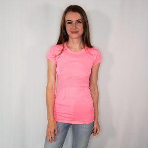 LULULEMON Swiftly Tech Short Sleeve Crew Neon Pink